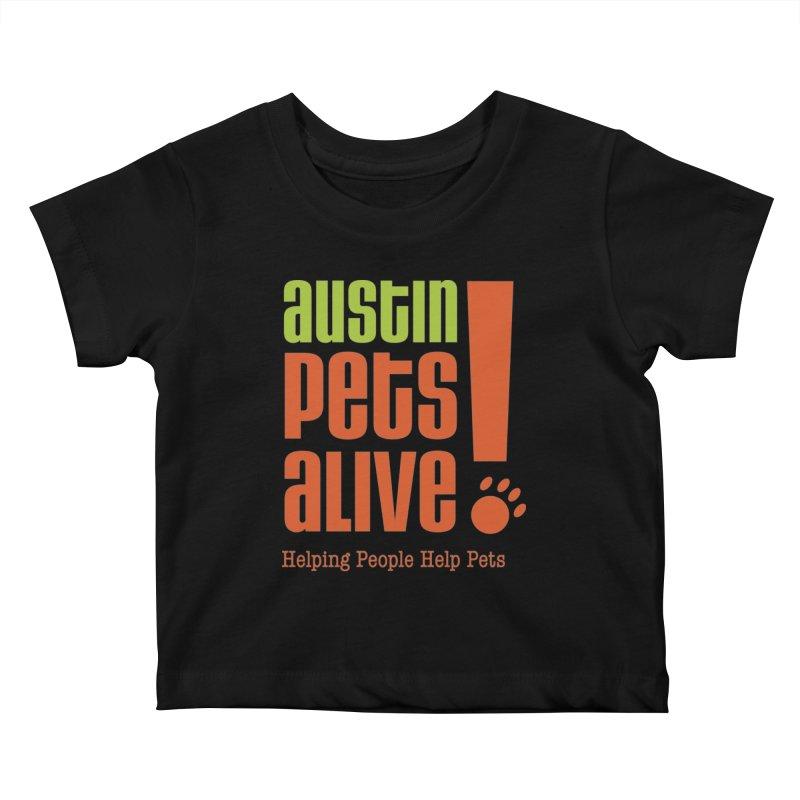 Austin Pets Alive! Kids Baby T-Shirt by Austin Pets Alive's Artist Shop