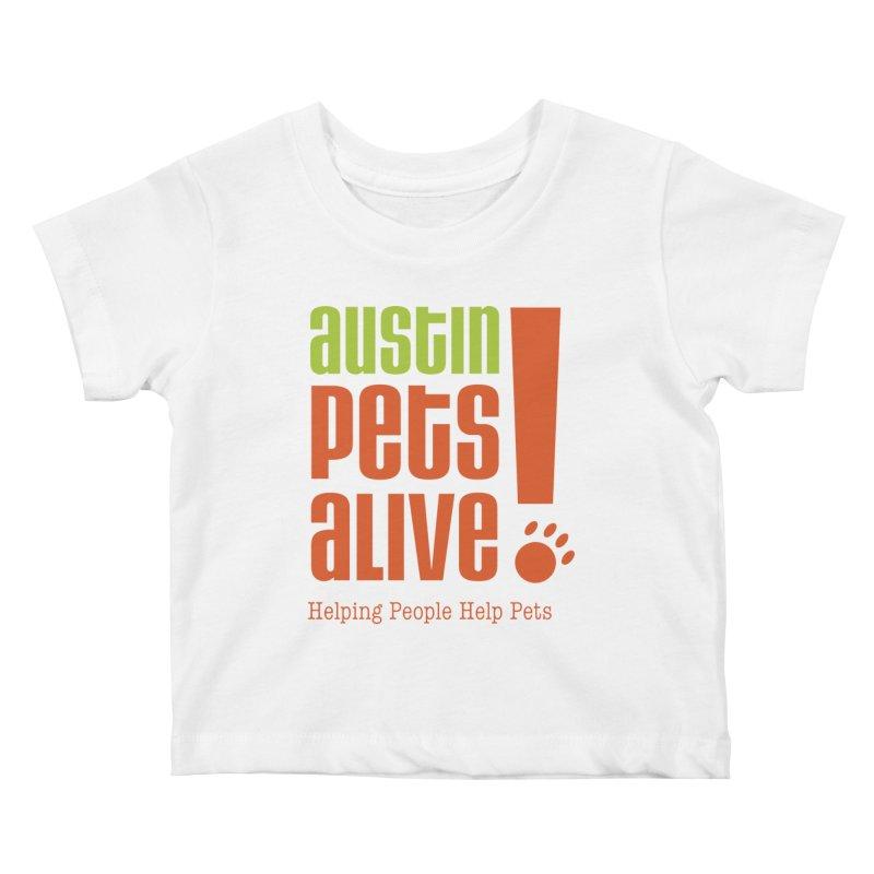 Austin Pets Alive! Kids Baby T-Shirt by austinpetsalive's Artist Shop