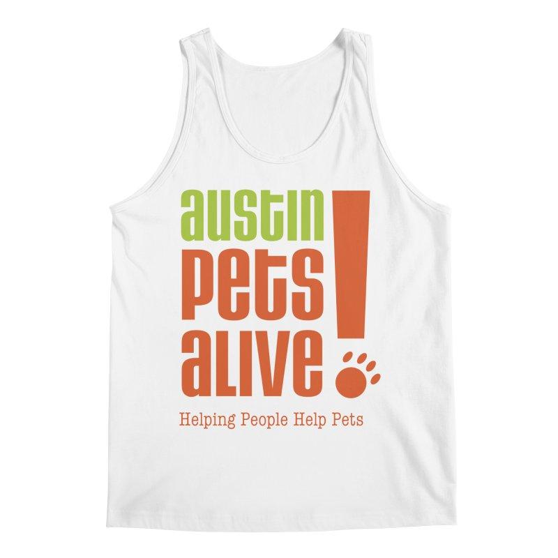 Austin Pets Alive! Men's Tank by Austin Pets Alive's Artist Shop