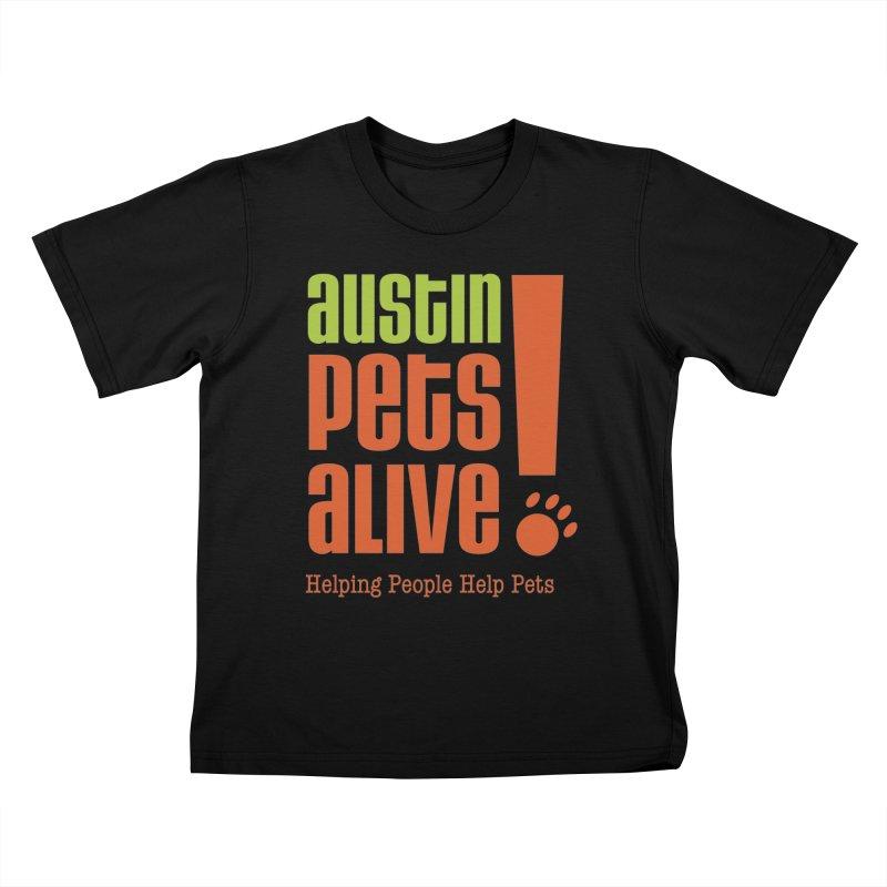 Austin Pets Alive! Kids T-Shirt by Austin Pets Alive's Artist Shop
