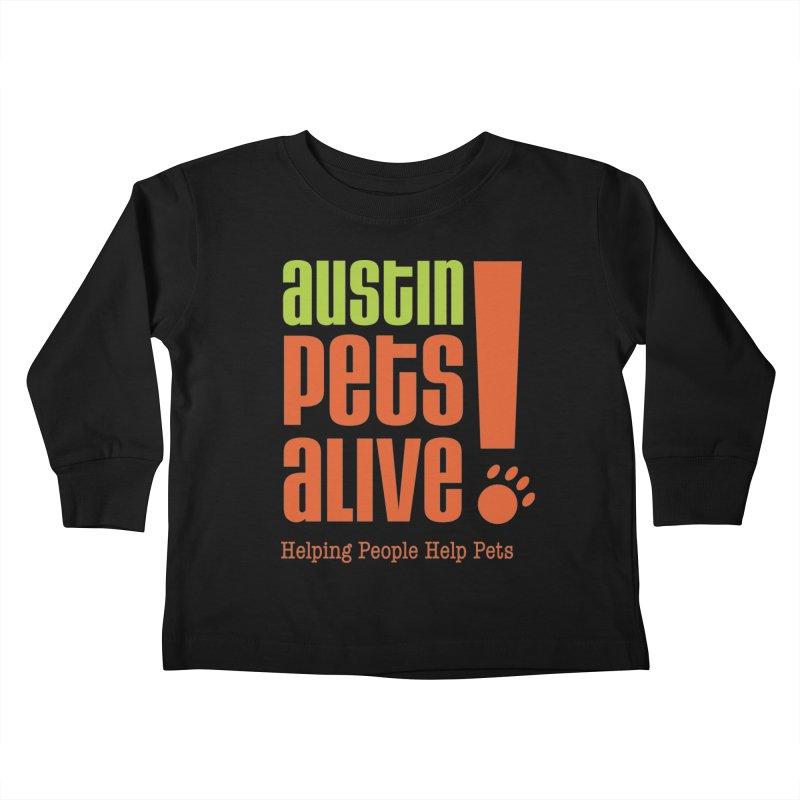 Austin Pets Alive! Kids Toddler Longsleeve T-Shirt by austinpetsalive's Artist Shop