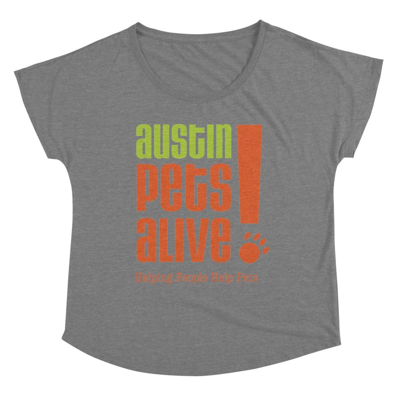 Austin Pets Alive! Women's Scoop Neck by Austin Pets Alive's Artist Shop
