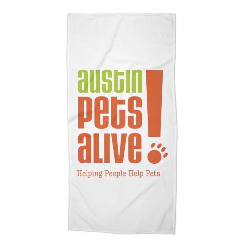 Austin Pets Alive! Accessories Beach Towel by Austin Pets Alive's Artist Shop