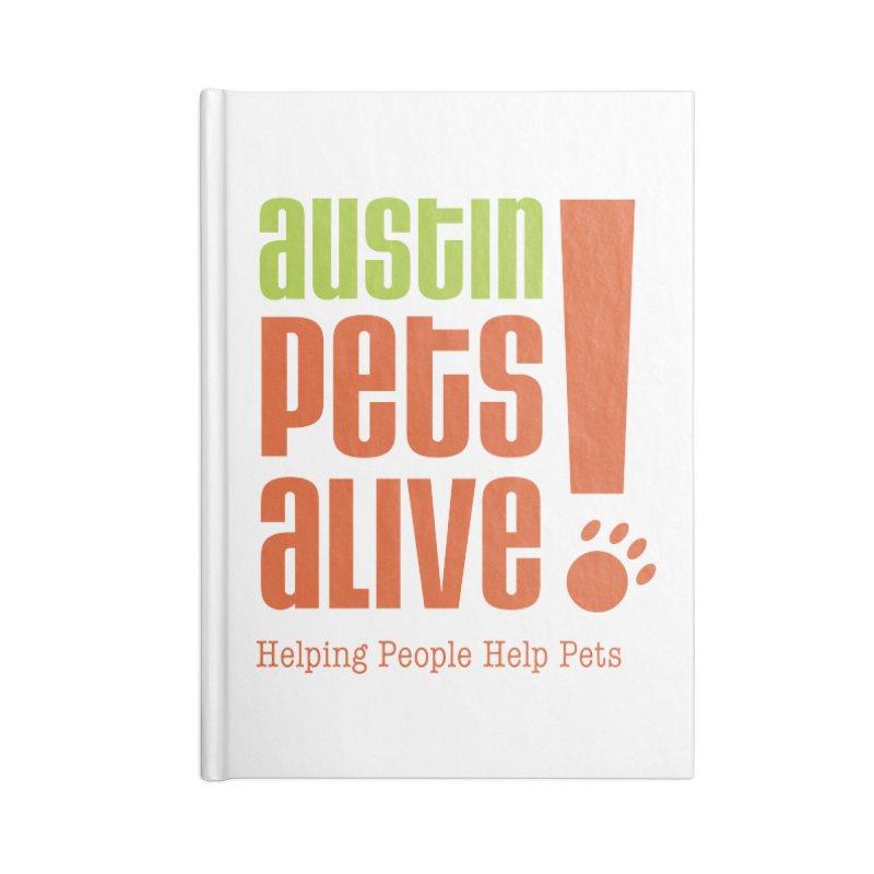 Austin Pets Alive! Accessories Notebook by Austin Pets Alive's Artist Shop