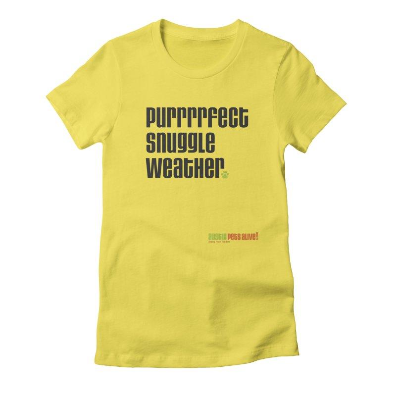 Purrrrfect Snuggle Weather Women's Lounge Pants by austinpetsalive's Artist Shop