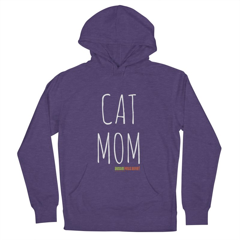 Cat Mom Men's French Terry Pullover Hoody by austinpetsalive's Artist Shop