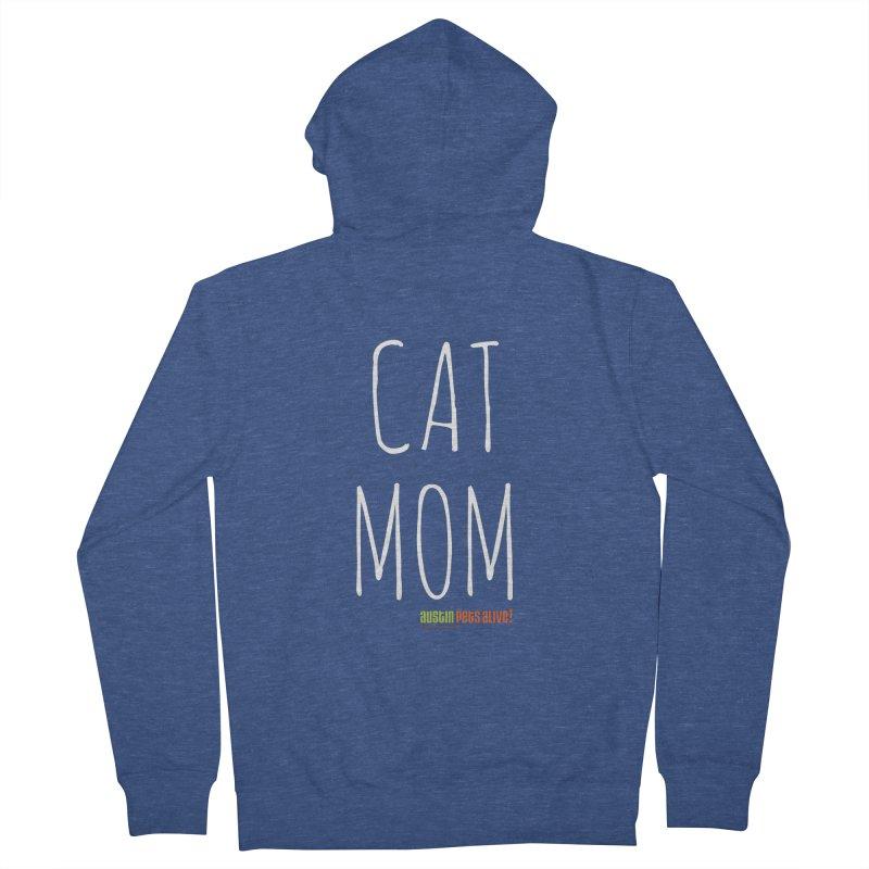 Cat Mom Men's Zip-Up Hoody by austinpetsalive's Artist Shop