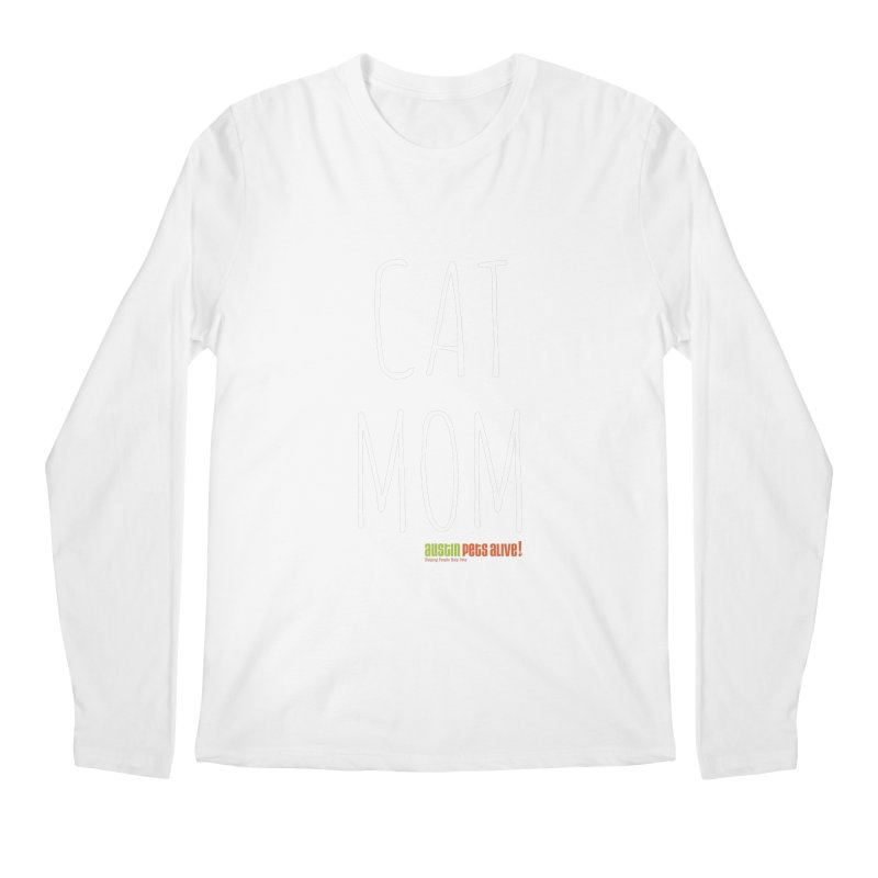 Cat Mom Men's Regular Longsleeve T-Shirt by Austin Pets Alive's Artist Shop