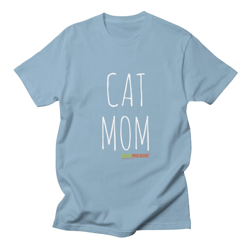 Cat Mom Women's Regular Unisex T-Shirt by austinpetsalive's Artist Shop