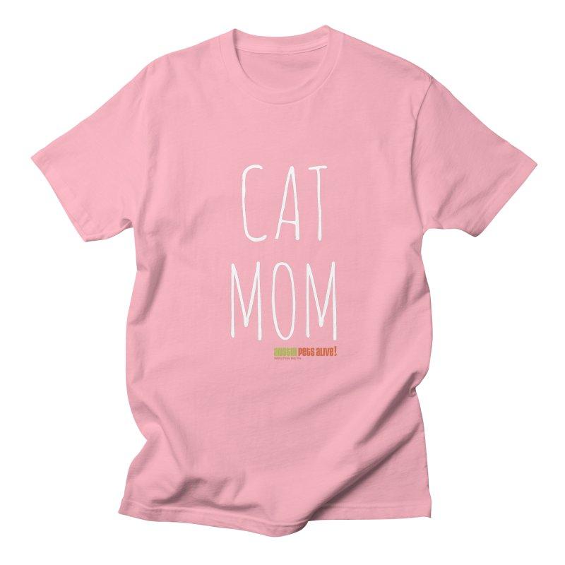 Cat Mom Men's Regular T-Shirt by austinpetsalive's Artist Shop