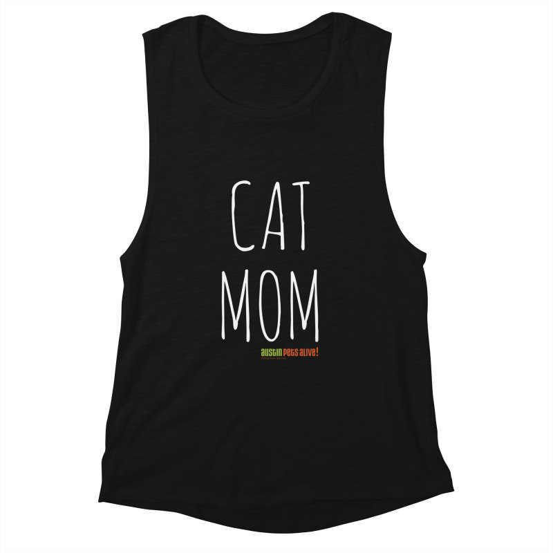 Cat Mom Women's Tank by Austin Pets Alive's Artist Shop
