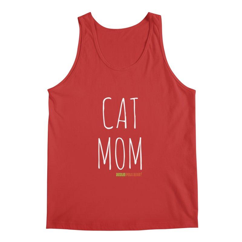 Cat Mom Men's Regular Tank by austinpetsalive's Artist Shop