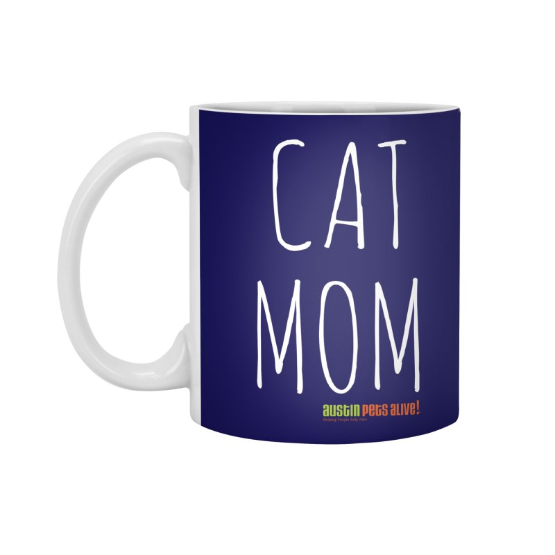 Cat Mom Accessories Mug by austinpetsalive's Artist Shop