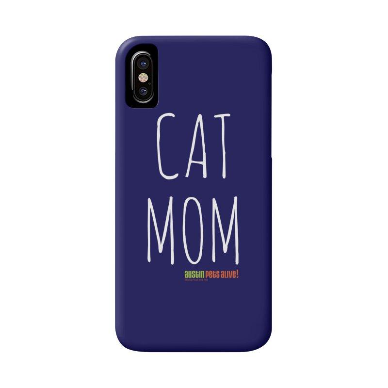 Cat Mom Accessories Phone Case by austinpetsalive's Artist Shop