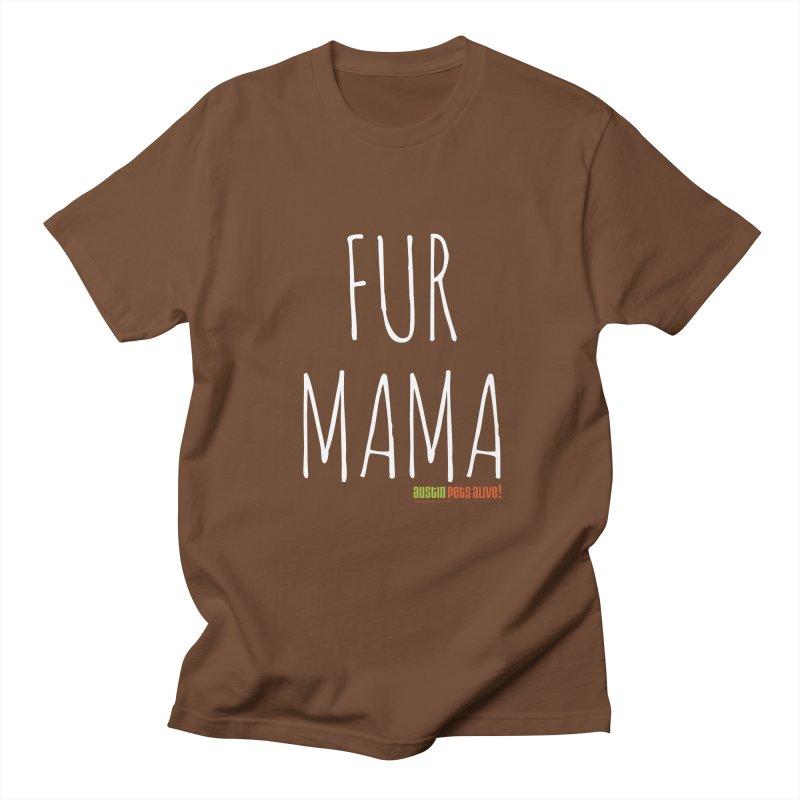 Fur Mama Men's Regular T-Shirt by austinpetsalive's Artist Shop