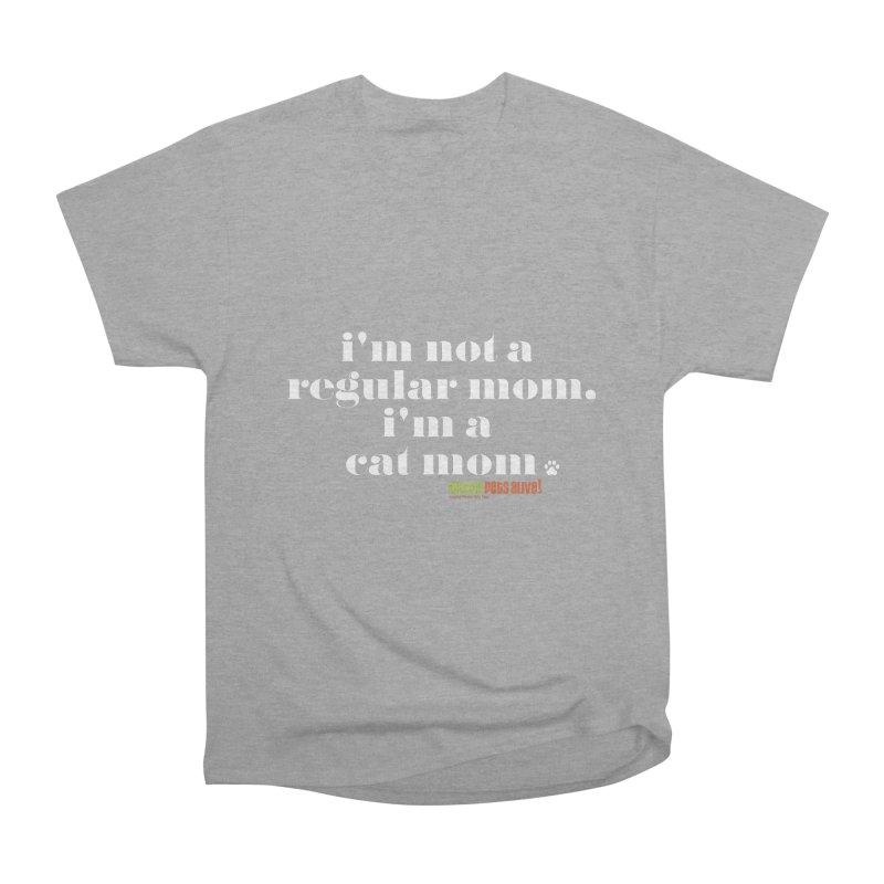 I'm a Cat Mom Men's Heavyweight T-Shirt by austinpetsalive's Artist Shop