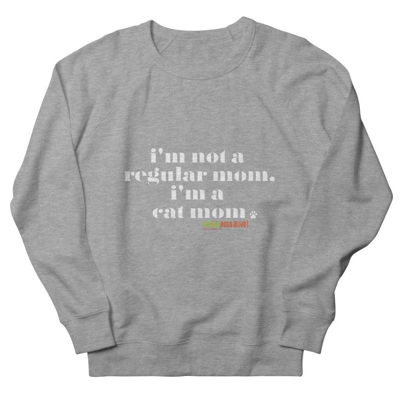 I'm a Cat Mom Men's French Terry Sweatshirt by austinpetsalive's Artist Shop