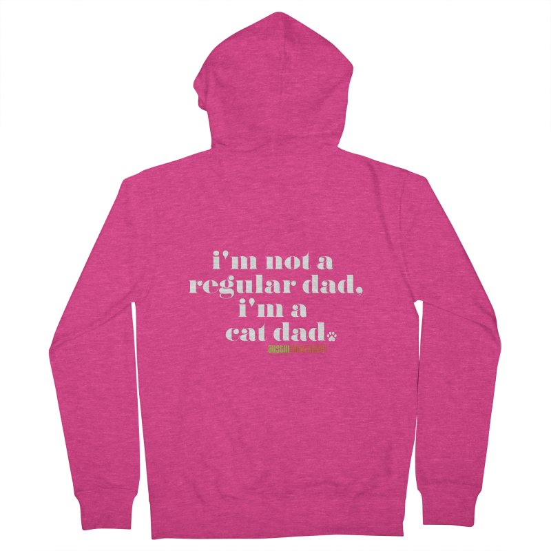 I'm a Cat Dad Women's French Terry Zip-Up Hoody by Austin Pets Alive's Artist Shop