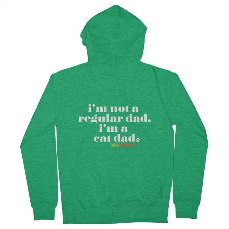 I'm a Cat Dad Men's Zip-Up Hoody by Austin Pets Alive's Artist Shop