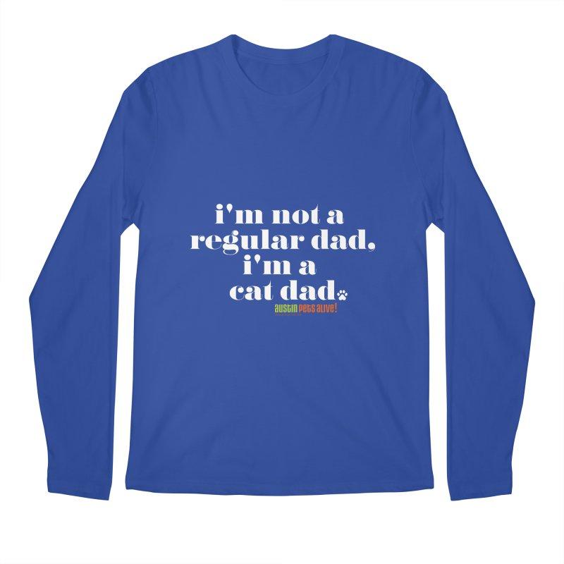 I'm a Cat Dad Men's Longsleeve T-Shirt by austinpetsalive's Artist Shop
