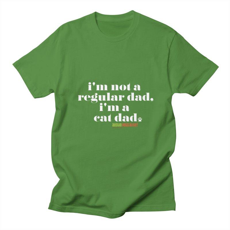 I'm a Cat Dad Men's Regular T-Shirt by austinpetsalive's Artist Shop