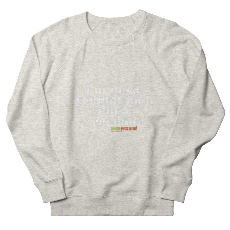 I'm a Cat Dad Men's French Terry Sweatshirt by austinpetsalive's Artist Shop