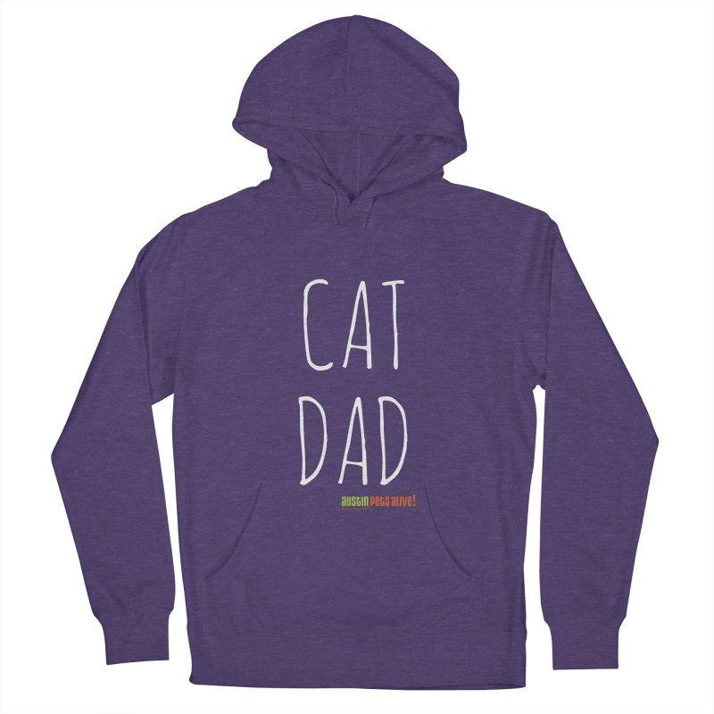 Cat Dad Men's Pullover Hoody by austinpetsalive's Artist Shop