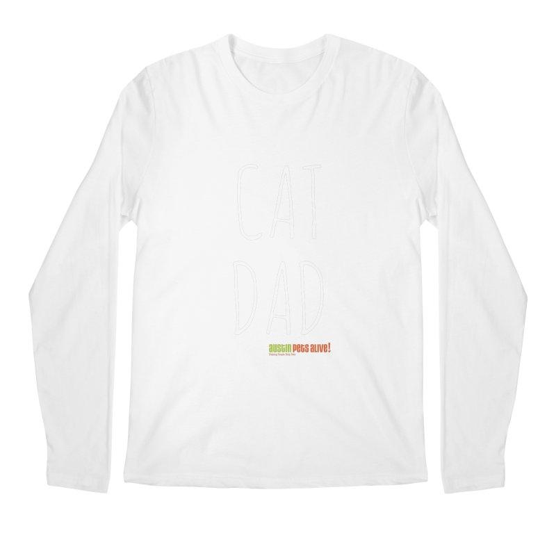 Cat Dad Men's Longsleeve T-Shirt by austinpetsalive's Artist Shop