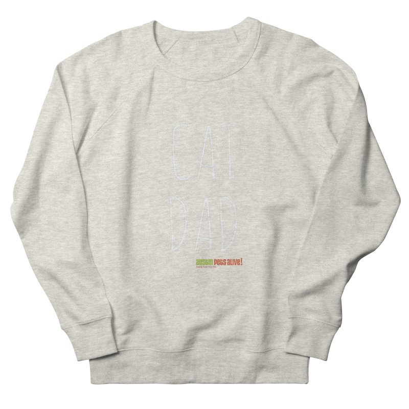 Cat Dad Women's French Terry Sweatshirt by Austin Pets Alive's Artist Shop