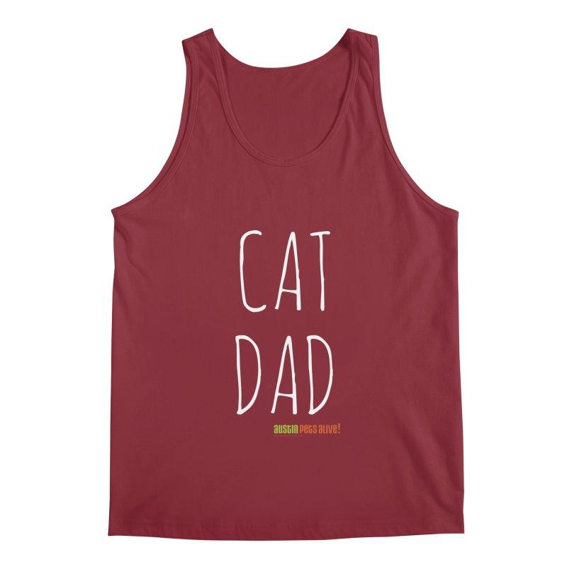Cat Dad Men's Tank by Austin Pets Alive's Artist Shop