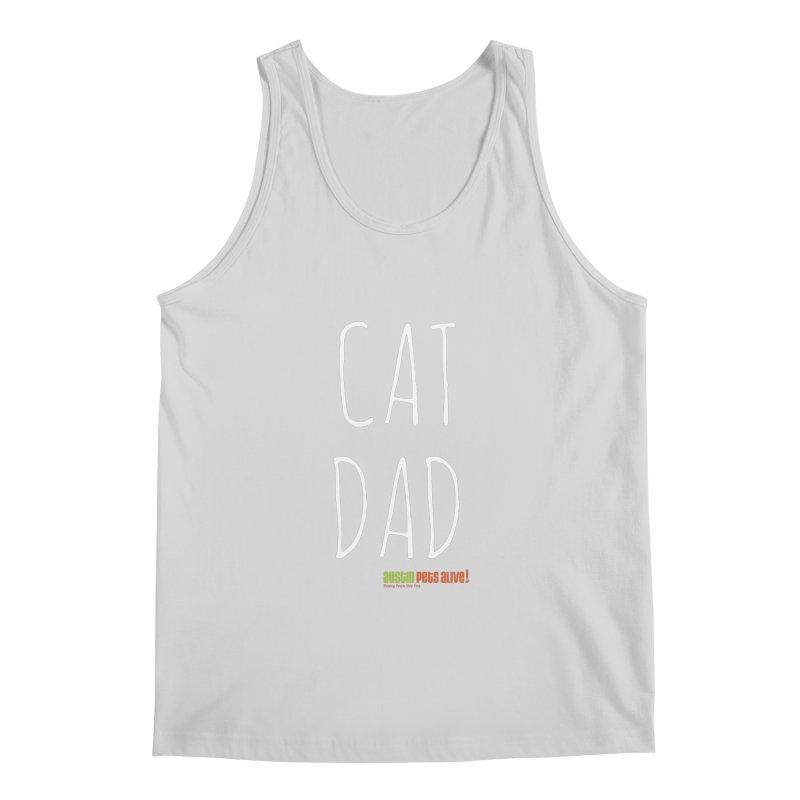 Cat Dad Men's Regular Tank by austinpetsalive's Artist Shop