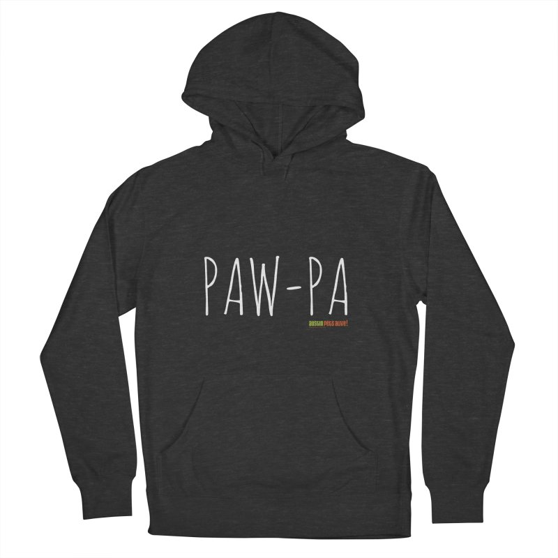 Paw-Pa Men's French Terry Pullover Hoody by Austin Pets Alive's Artist Shop