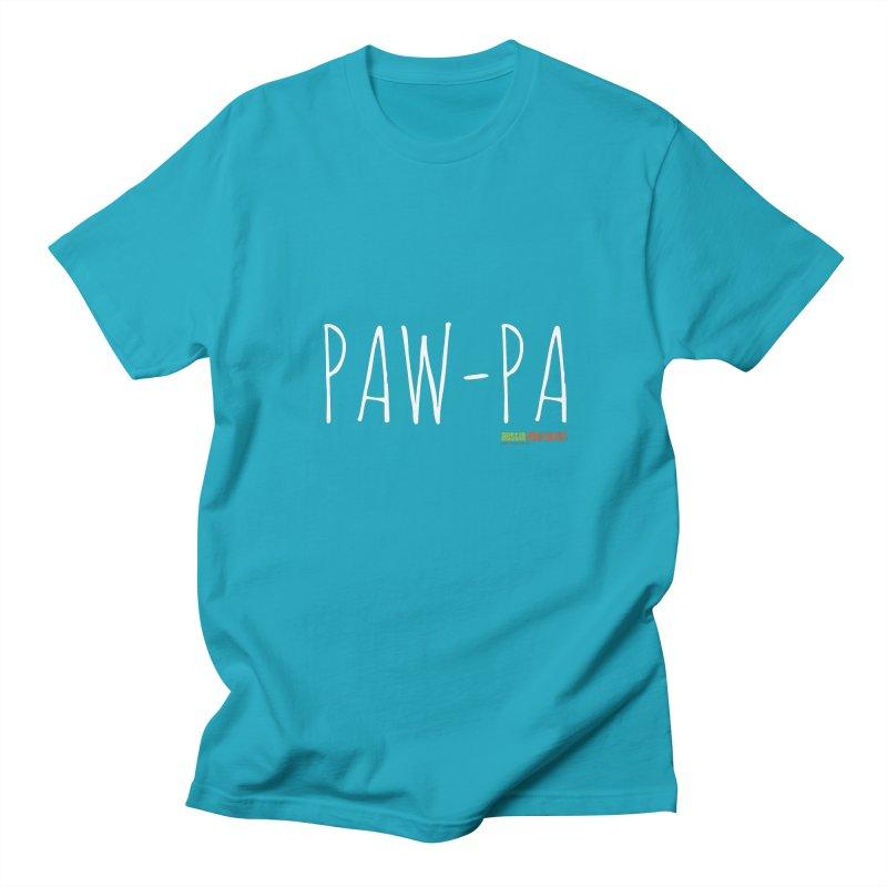 Paw-Pa Men's T-Shirt by Austin Pets Alive's Artist Shop