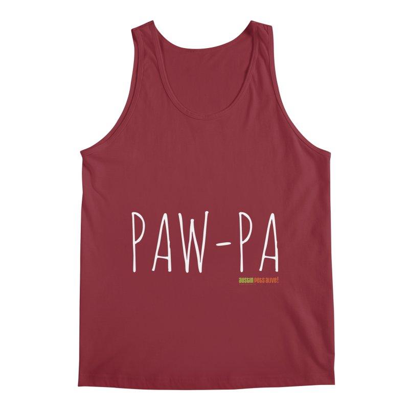Paw-Pa Men's Tank by Austin Pets Alive's Artist Shop