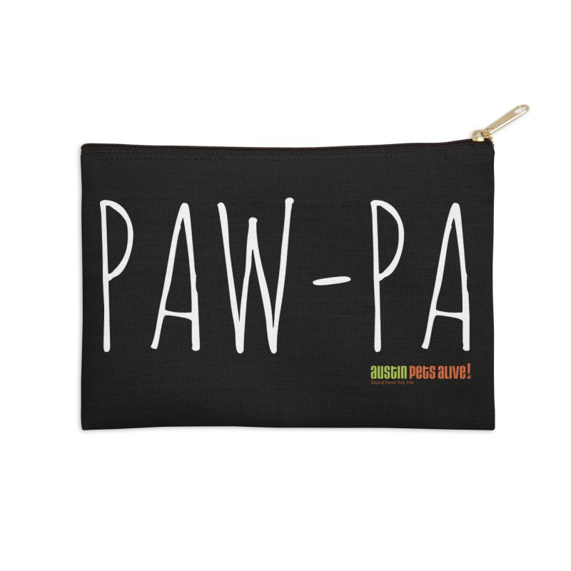 Paw-Pa Accessories Zip Pouch by austinpetsalive's Artist Shop