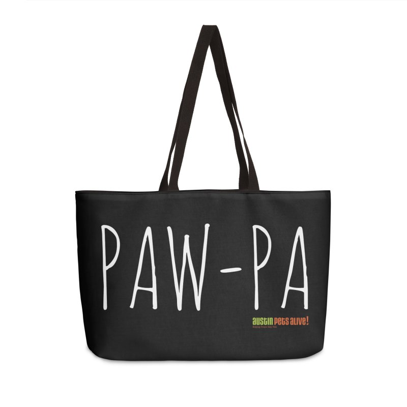 Paw-Pa Accessories Weekender Bag Bag by Austin Pets Alive's Artist Shop