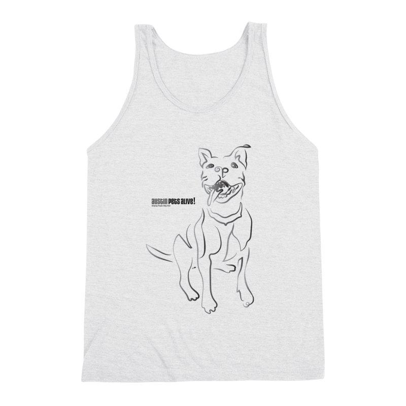 Contour Dog Men's Tank by Austin Pets Alive's Artist Shop