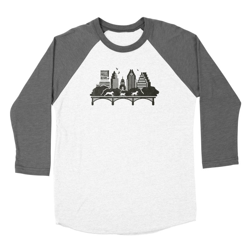 Pet Party on the Austin Skyline Women's Longsleeve T-Shirt by Austin Pets Alive's Artist Shop