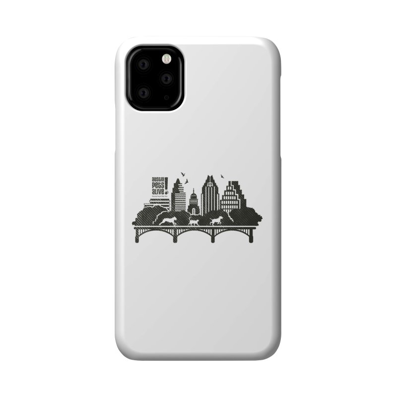 Pet Party on the Austin Skyline Accessories Phone Case by Austin Pets Alive's Artist Shop
