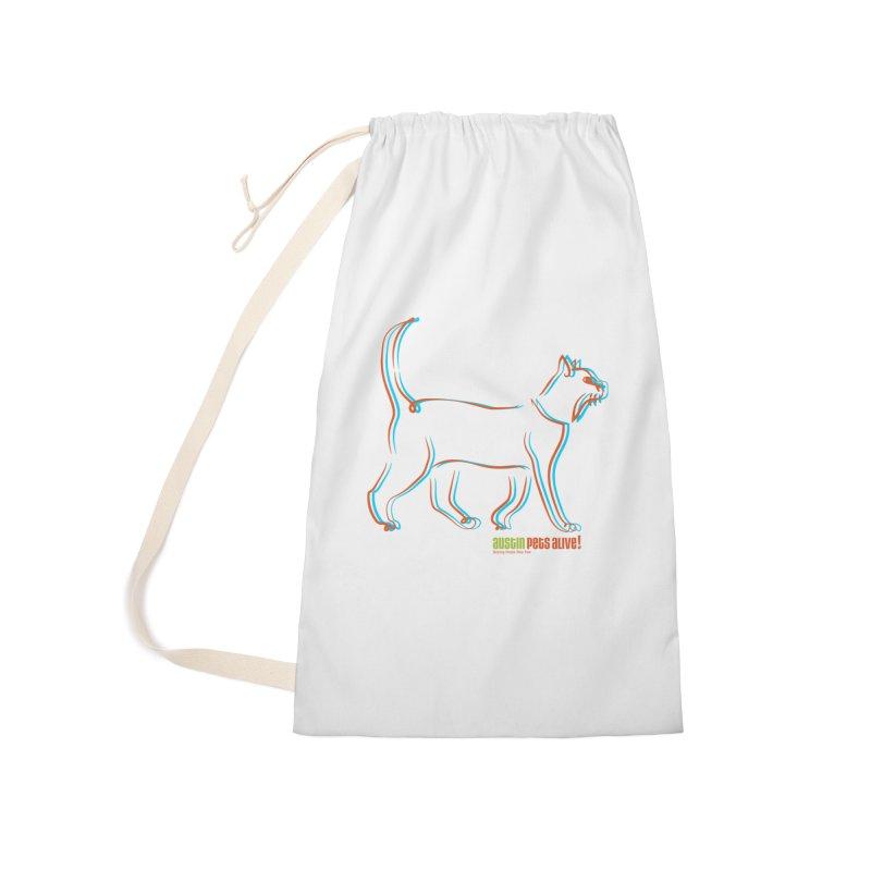 Totally Rad Contour Cat Accessories Bag by Austin Pets Alive's Artist Shop