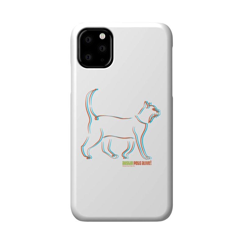 Totally Rad Contour Cat Accessories Phone Case by Austin Pets Alive's Artist Shop