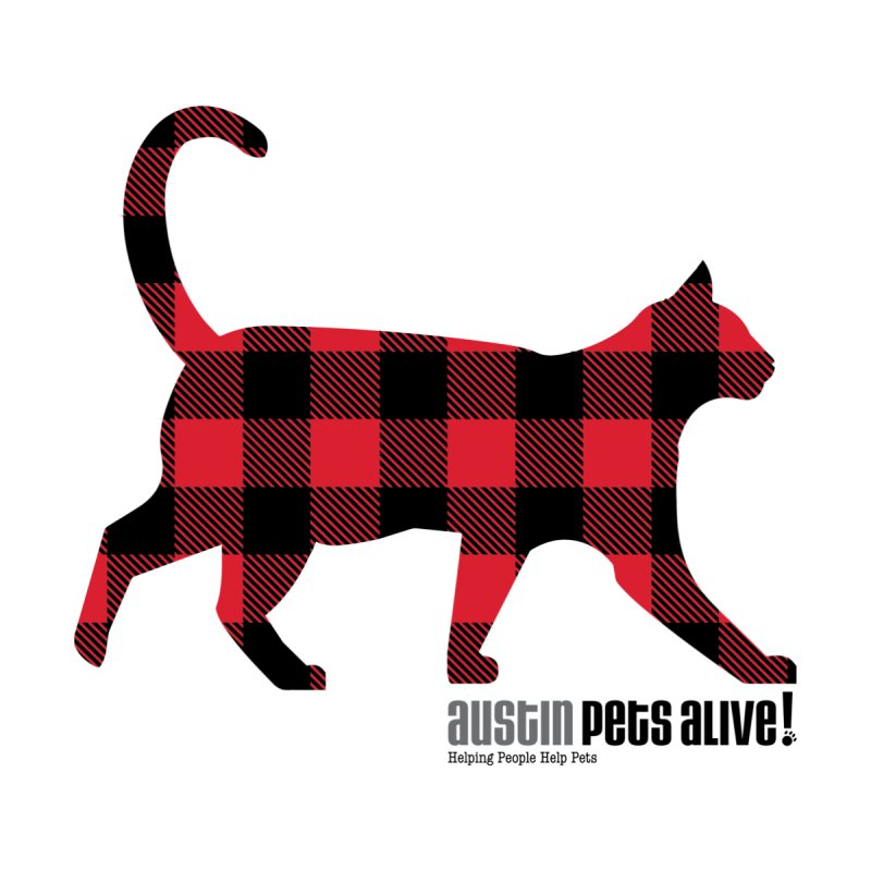Cat in Plaid by austinpetsalive's Artist Shop
