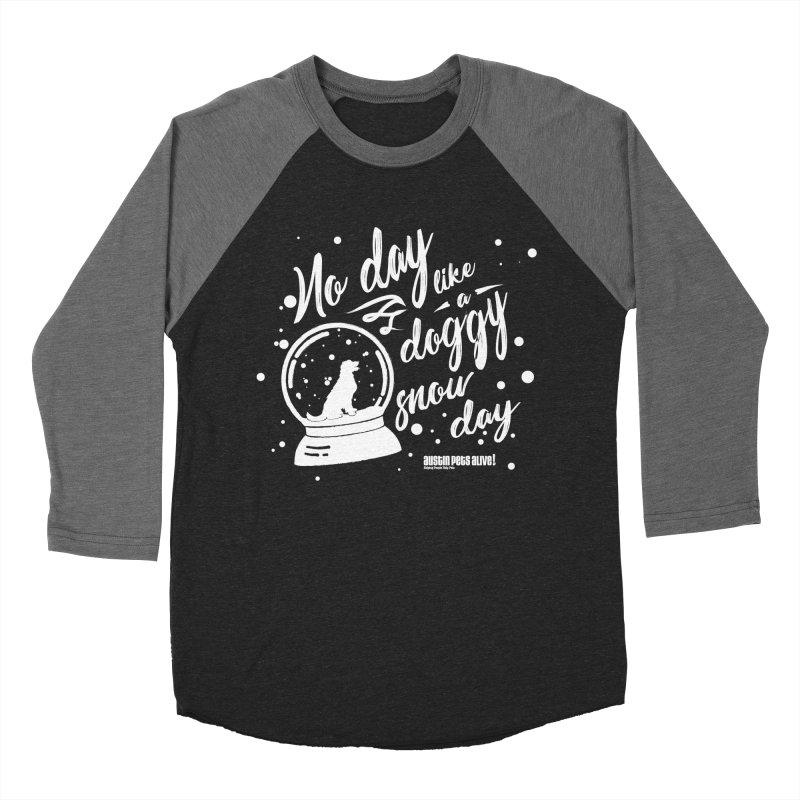 APA! Snow Days Women's Baseball Triblend Longsleeve T-Shirt by austinpetsalive's Artist Shop