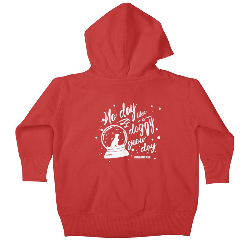 APA! Snow Days Kids Baby Zip-Up Hoody by austinpetsalive's Artist Shop