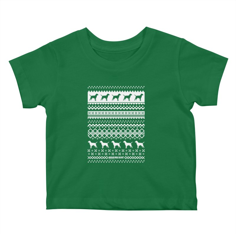 Festive Dogs Kids Baby T-Shirt by austinpetsalive's Artist Shop