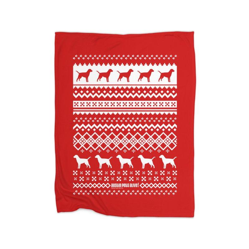 Festive Dogs Home Blanket by austinpetsalive's Artist Shop