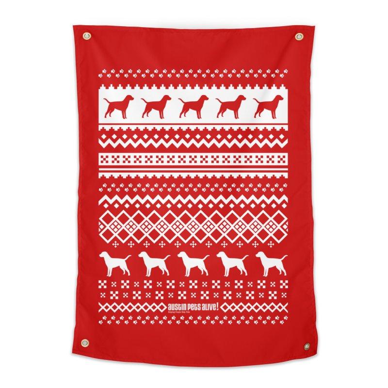 Festive Dogs Home Tapestry by austinpetsalive's Artist Shop