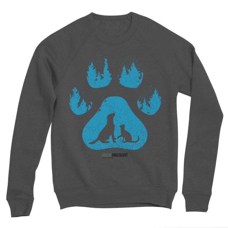 Forest Paw Women's Sponge Fleece Sweatshirt by Austin Pets Alive's Artist Shop