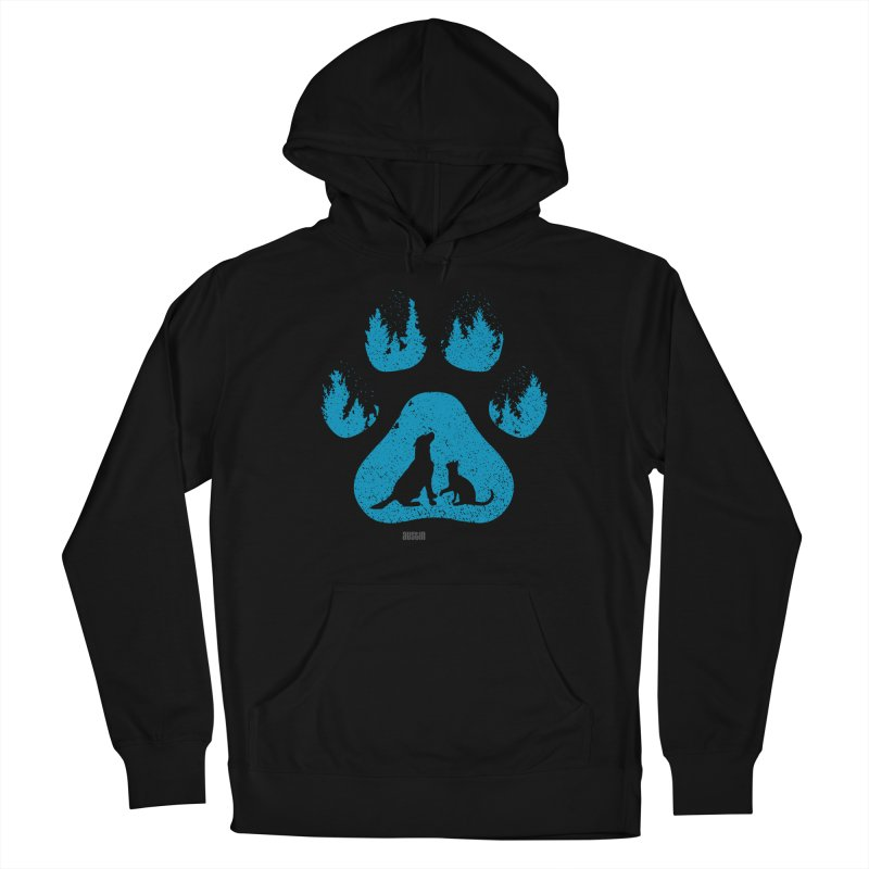Forest Paw Women's Pullover Hoody by Austin Pets Alive's Artist Shop
