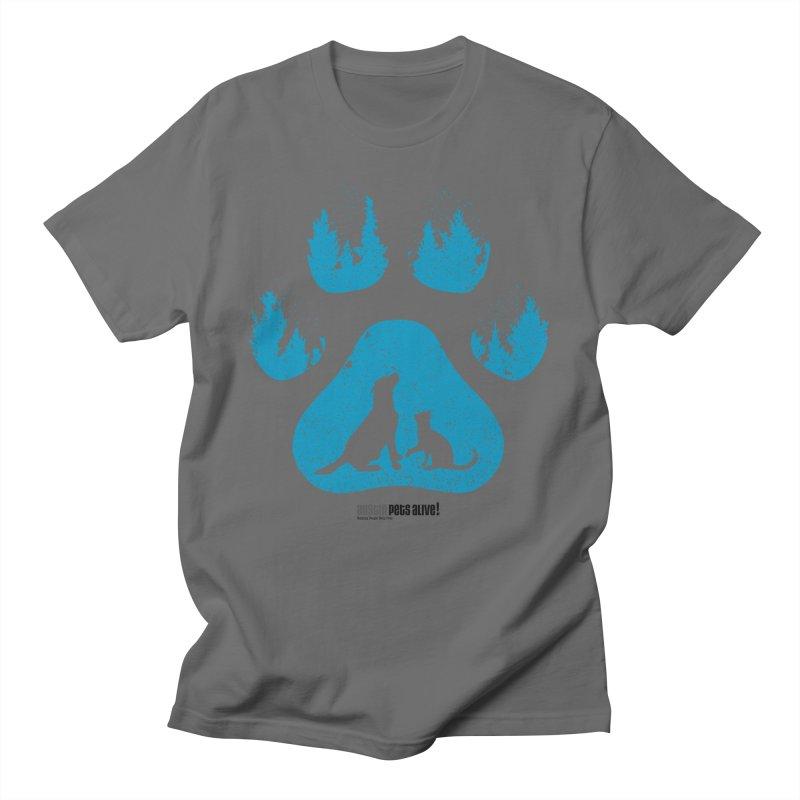 Forest Paw Men's T-Shirt by Austin Pets Alive's Artist Shop